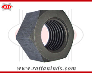 hex nut black finish manufacturers exporters india