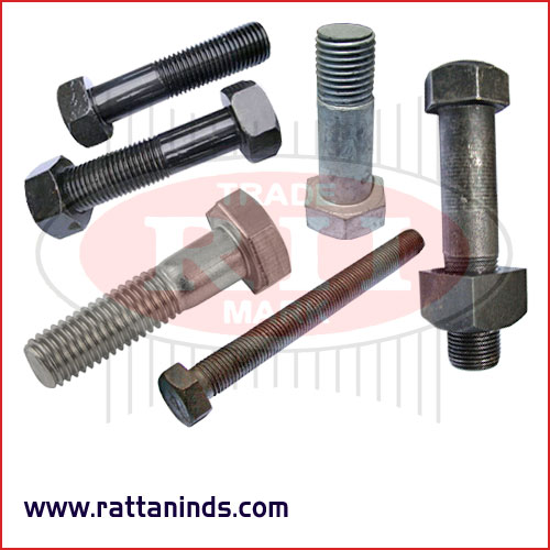 high tensile bolts forged hex bolt manufacturers exporters in India Punjab Ludhiana