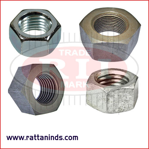 high tensile nuts forged hex nut manufacturers exporters in India Punjab Ludhiana
